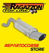 RAGAZZON TERMINALE SCARICO OVALE 135x90mm ALFA ROMEO MITO 1.4 TB 88kW 120CV