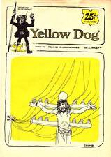 YELLOW DOG #4 Underground newspaper, Robert Crumb, S. Clay Wilson - 1973 reprint