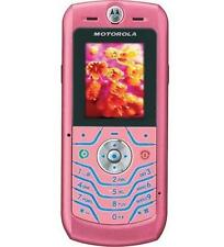 Motorola SLVR L6 Pink GSM Unlocked Cellular Phone Demo Unit