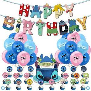Lilo Stitch Party Supplies Stitch Birthday Party Decorations 24 Pcs Lilo Stitch