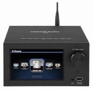 CocktailAudio X14 schwarz All-in-One HD HiFi-System ohne Festplatte