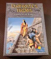 Euphrates and Tigris Contest of Kings Card Game Rio Grande Games open box