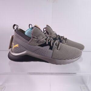 Size 12 Men's PUMA Emergence Future Sneakers 192346-03 Gray/Black/Orange