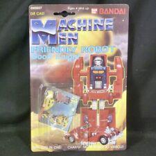Bandai Machine Men Box Friendly Robot Good Knight Japan Vintage Toy Transformers