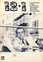 Film für Sie Filmprogramm 21/72 12 + 1 1972 DDR