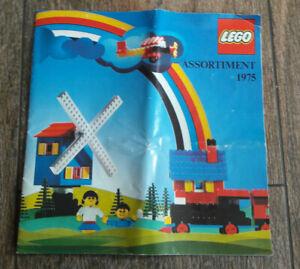 LEGO * LIVRET CATALOGUE ASSORTIMENT 1975 * FRANCE *