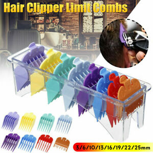 Standard Guards Attach Trimmer Hair Clipper Guide Comb Set Style for WAHL 8pcs