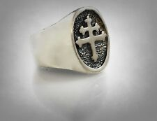 CROSS OF LORRAINE RING FRENCH FOREIGN LEGION PI MAGNUM