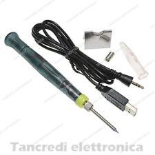 MICRO MINI SALDATORE SALDATURA SMD STAGNO USB 5V 2A RAPIDO PUNTA 0,1mm ZD 20U