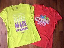 2012 Pittsburgh Half Marathon Women's Asics Shirts ~ Medium ~ Dicks Sporting