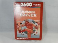 REALSPORTS SOCCER - ATARI 2600 VCS 7800 - VIDEOGIOCO VINTAGE ANNI 80 - COMPLETO