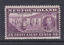 Newfoundland 1937 Sg 267c perf 131/2 MNH