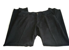 Armani Collezioni Mens 36 L Pants Charcoal Gray Slacks Vintage 1990s