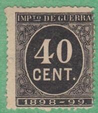 Spain War Tax Revenue Edifil #26 unused 40c 1898 cv $17