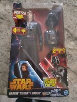 Hasbro Star Wars 2013 Anakin Skywalker To Darth Vader Action Figure New In Box