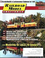 Railroad Model Craftsman Magazine October 2015 Modeling St. J&LC 70-Tonners