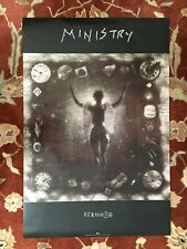 MINISTRY  Psalm 69  rare original promotional poster