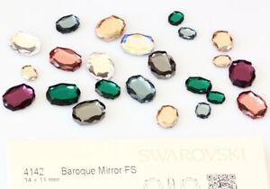 Original SWAROVSKI 4142 Baroque Mirror Strass Steine * viel Größen & Farben