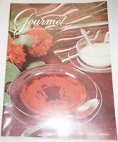 Gourmet Magazine Along The Boulevards July 1963 102214R