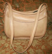 Vintage COACH Extra Large Classic Hobo Saddle Bag Purse Beautiful!