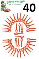 40 Ersatz Messer passend für Güde RT 250/18 Li Ion Akku Rasentrimmer
