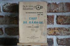 LIVRE CHEF DE GARAGE  (M 2/8).