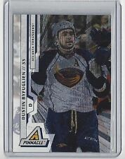 2010-11 DUSTIN BYFUGLIEN PINNACLE RINK COLLECTION PARALLEL #192