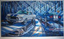 SHELBY MUSTANG GT500 KR ART 1968 428 COBRA JET 2007 2008 FORD 5.4 MICHAEL IRVINE