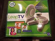 NEW LeapFrog LeapTV Learning Educational Active Video Game Leap TV Frog BUNDLE