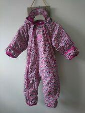 Jojo maman bebe baby girl snowsuit 12-18 months excellent condition