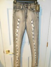 VIP Faded Distressed Jeans in Gray - size 1/2