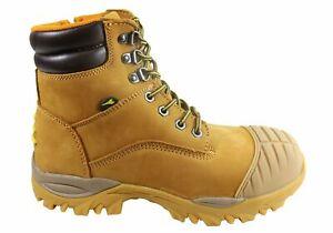 Diadora Craze Zip Comfortable Composite Toe Safety Work Boots Mens - WWZ