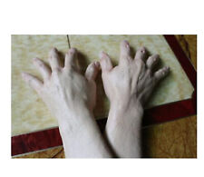 Human Arms Latex Hands Gloves Realistic Adult Halloween Fancy Dress Costume Prop