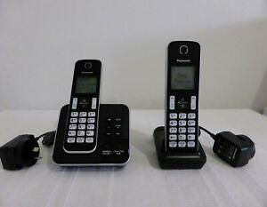 PANASONIC KX-TGD320AL (2 handsets) digital cordless PHONE + ANSWERING MACHINE
