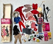SINDY DOLL IN BOX WITH CLOTHES AND ACCESSORIES BY PEDIGREE 1960's RARE RETRO UK