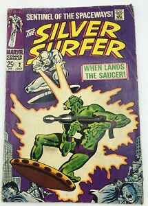 Marvel: Silver Surfer Original Series 1: #2 Oct 1968 - Silver Age