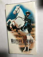 WESTERN HEROES OF THE SILVER SCREEN VHS GENE AUTRY, ROY ROGERS, LONE RANGER