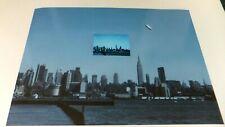 Rare 1980s-1990s? New York Daylight Disc UFO Photo 20X30 + 4X6 NY Flying Saucer!