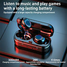 Wireless Bluetooth Touch Headset Mini earphones earbuds charging box