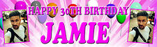 GLOSS PERSONALISED 2M PHOTO BIRTHDAY PARTY BANNER ANY AGE, ANY NAME, ANY EVENT