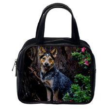 BLUE HEELER AUSTRALIAN CATTLE DOG PUP Puppy WOMENS LEATHER BAG HANDBAG 99234226