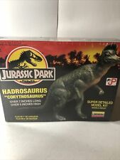 Jurassic Park Dinosaur Hadrosaurus Corythosaurus Model Kit Lindberg 1993 Sealed