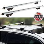 MP Lockable Aluminium Car Roof Rack Cross Rail Bars to fit Suzuki Wagon R+ 97-05