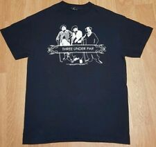 "3 Stooges Golf ""Three under Par"" T-shirt  size Small"