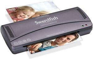 Swordfish 230LR Compact A4 Laminator Jam Free Fast Warm Up - 2 Year Warranty