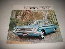 1961 BUICK SPECIAL BUICK SPECIAL DELUXE ORIGINAL SALES BROCHURE