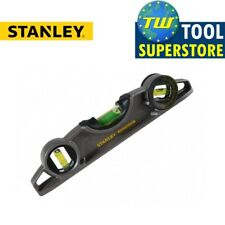 Stanley STA043609 FatMax Xtreme 10in Magnetic Torpedo Pipe Spirit Level 250mm 0-