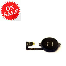 Home Button Flex Cable For iPhone 4 Black Replacement Assembly Menu Key Cable