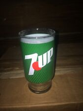 NOS Vintage 7UP Label 16oz Glass