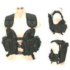 US Navy Seal Modular Load SWAT Assault Density Nylon Tactical Vest Black